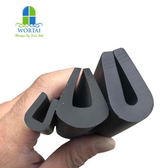 China Extruded U Shape U Profile Silicone Rubber Edging