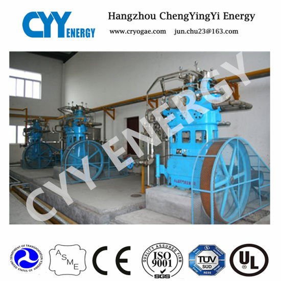 China Oil Free Water Cooling Cryogenic Oxygen Air Piston