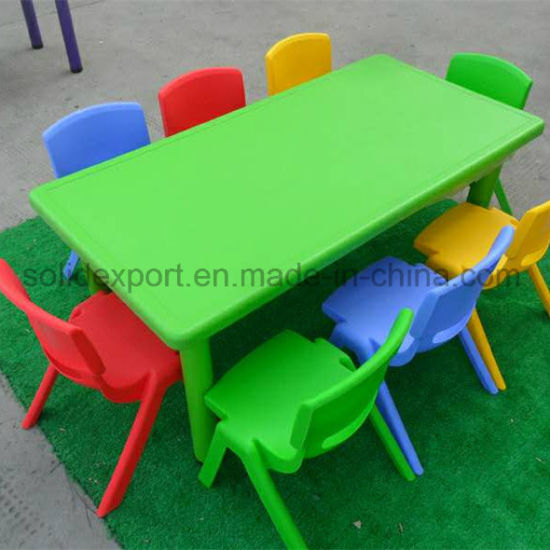 Easily Embled Children Nursery School Tables And Chair