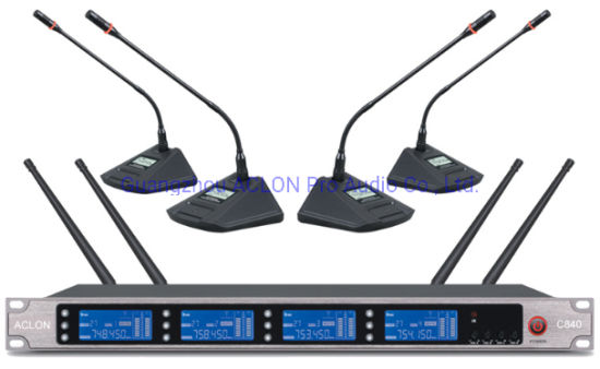 UHF Professional Live Concert Wireless Microphone System pictures & photos