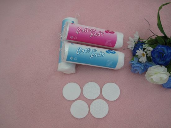 Facial Care/Make up Cotton Pad Wholesale Organic Round Shape Cosmetic Cotton Pads Manufacturers