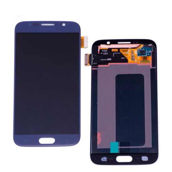 Black/White 2019 New LCD Assembly Screen for Samsung Galaxy S6 pictures & photos