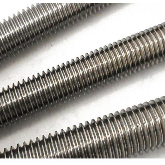 Stainless Steel All Thread Threaded Rod Bar Studs 6//32 x 36