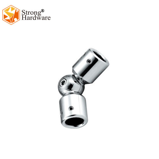 Frameless Shower Accessories Zinc Alloy Shower Room Pipe Connectors