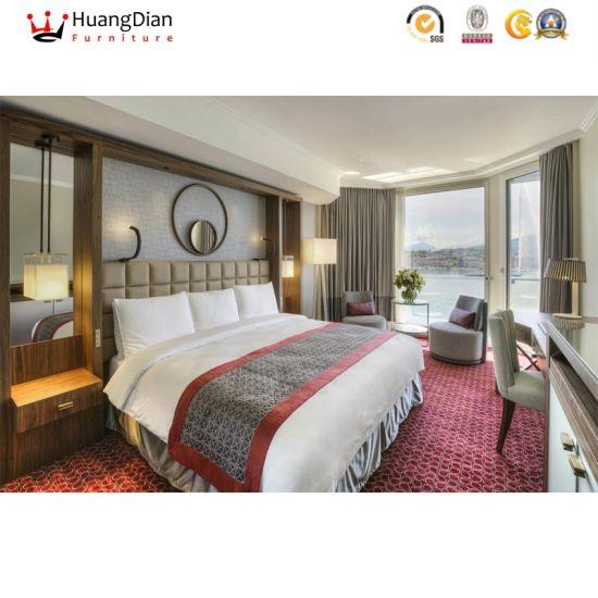 Chinese Five Stars Hotel Luxury Custom Bedroom Living Room Furniture Sets