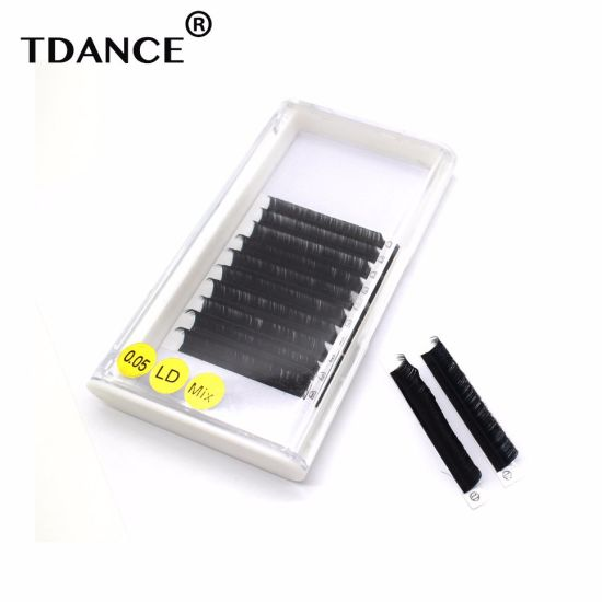 2554dfa2727 Hot Selling Private Label Russian Volume Lashes Premade Fans Eyelash  Extensions pictures & photos