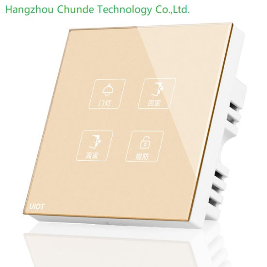 Smart Home Soft Touch Scene Switch Panel