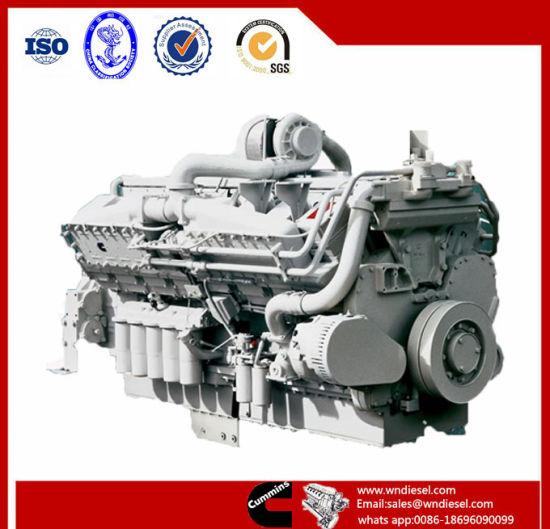Cummins Marine Engine Kta50 M2 1342kw 1900rpm