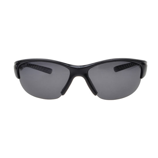 2017 Tiny Half Frame Cycling Sunglasses with Rubber Tip