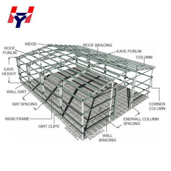 China Supplier Professional Modern Steel Structure Design