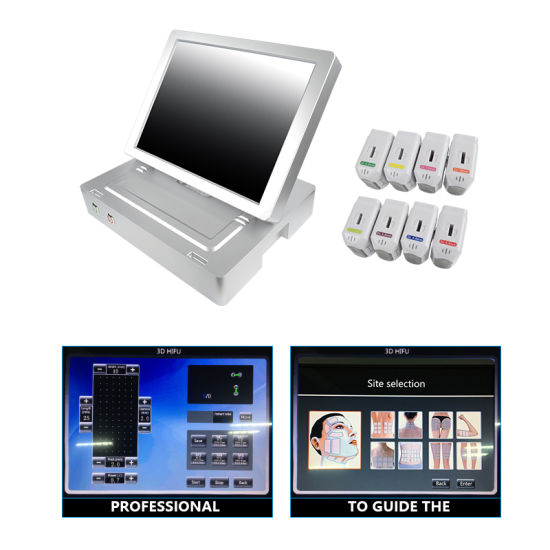Best Sale Hifu 3D Face Lift Machine/Facelift 2D Hifu Portable 10000 Shots  11 Lines Beauty Equipment