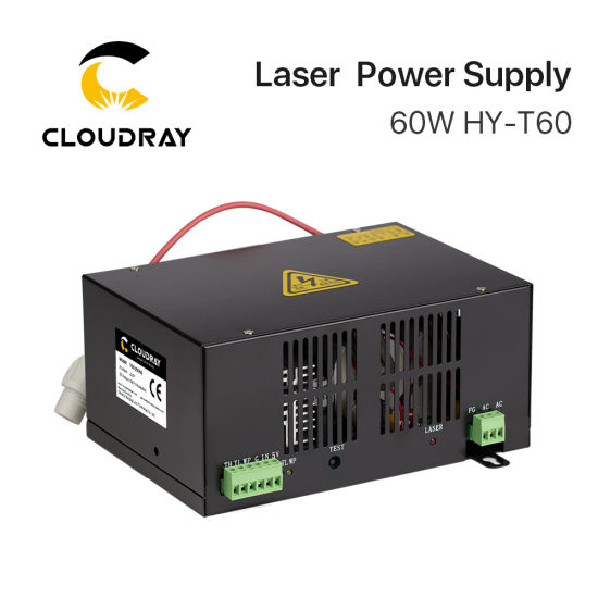 Factory Wholesales T60 Co2 Laser Power Supply 60w For Laser Machine Hair Extensions & Wigs