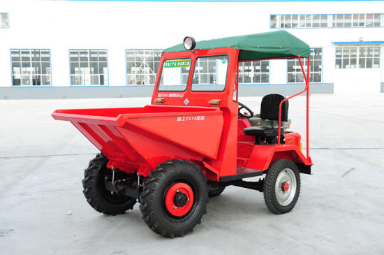 2.0 Ton 2000kg 4X4 Hydraulic Dumper Truck pictures & photos