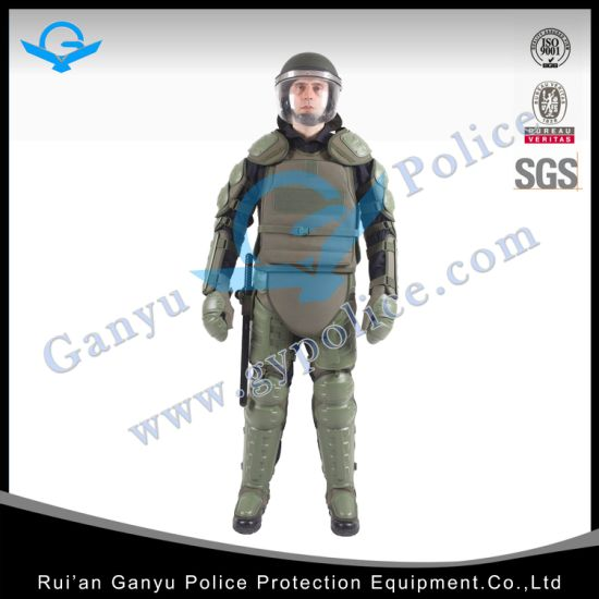 Green Police Self Defense Riot Suit