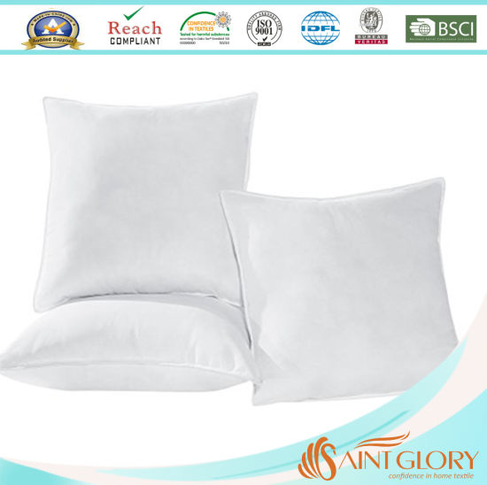 Hotel Home Hollow Fiber Filling Pillow Polyester Synthetic Cushion Inner