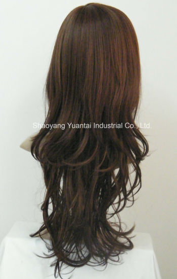 Long Synthetic Hair Wig for Woman pictures & photos