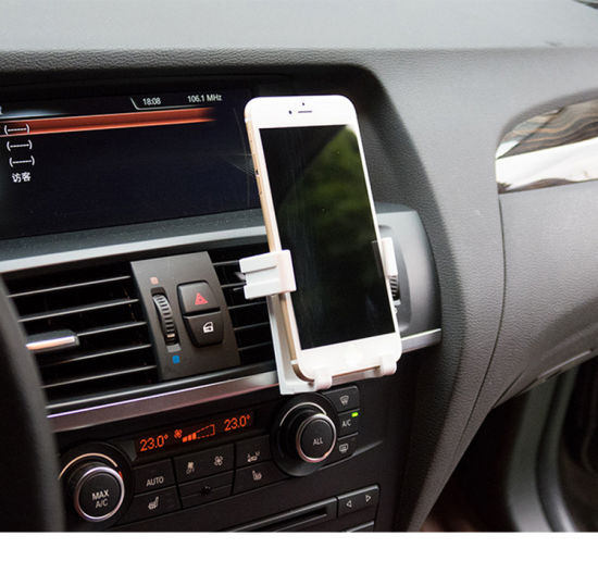 Jxhc-009 Universal Smart Air Vent Cell Phone Car Mount Cellphone Holder for Smartphone Mobile Stand pictures & photos