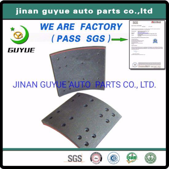 BPW for Fuwa Ror Trailer Spare Parts Axles Brake Lining/Brake Pad