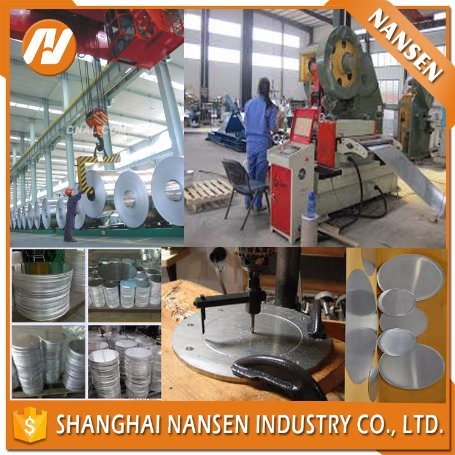 China Factory Price 1050 1070 3003 1100 Aluminium Circle Punching Disc Sheet Circle pictures & photos
