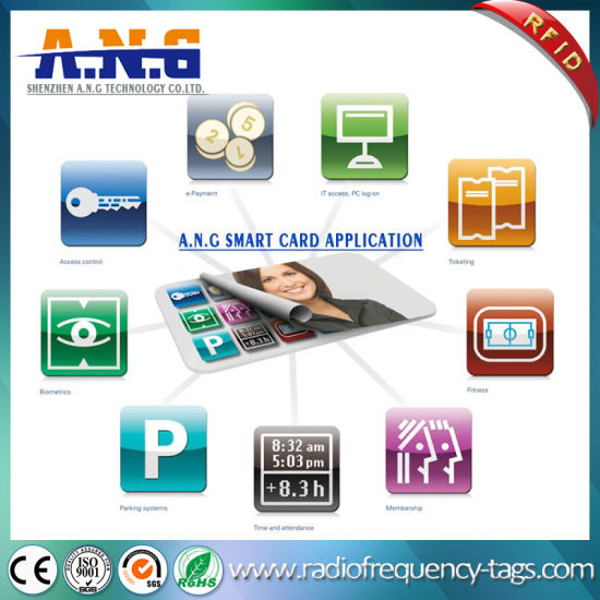 Custom Printing PVC RFID Card Smart Business Card pictures & photos