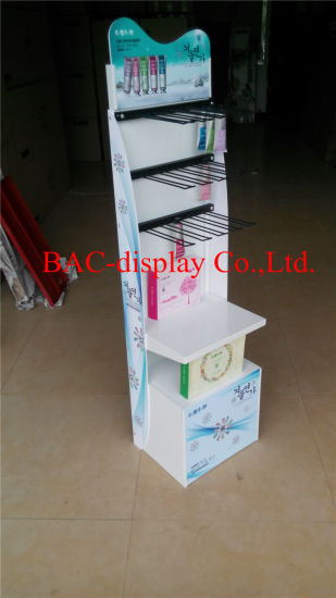 New Design Skin Care Products Metal Stand Perfume Display Shelf pictures & photos