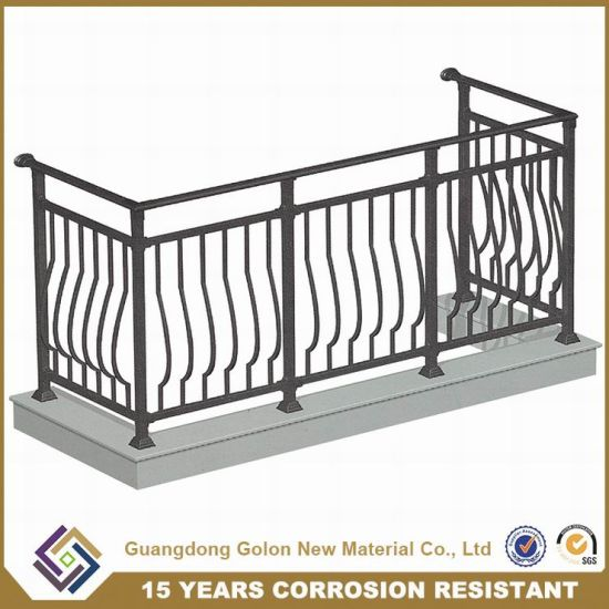 Aluminum Stair Railing Parts Handrails For Stairs Aluminium Wooden
