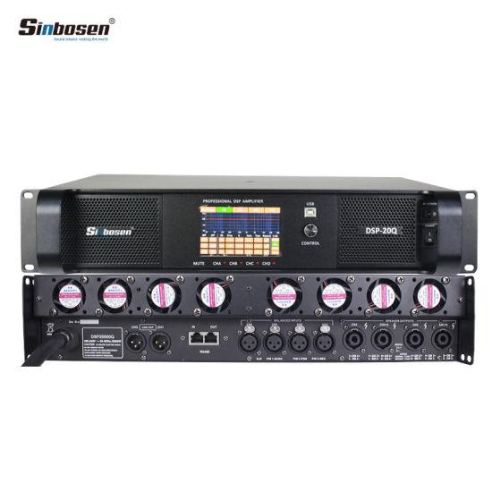Sinbosen 4 Channel DSP20000q Stereo Amplifer Class D Karaoke DSP Audio  Amplifier