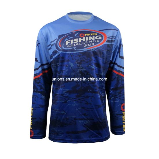 Fishing Club Team Wear Sport Tee Polo Sublimation Custermized Shirt pictures & photos