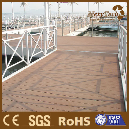 High Quality Wood-Plastic Composite Flooring Outdoor Decking pictures & photos