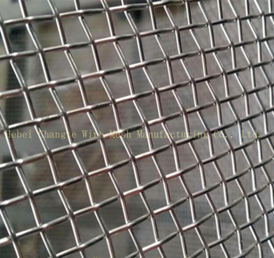 Stainless Steel Gingham Woven Mesh with Decorative Protective Mesh