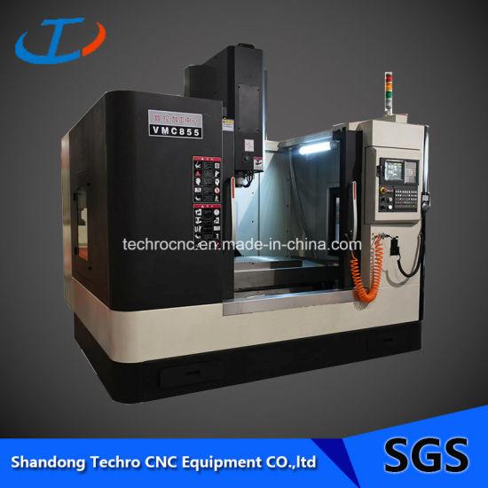 Vmc855 Taiwan Ballscrew CNC Vertical Milling Machine Center Price