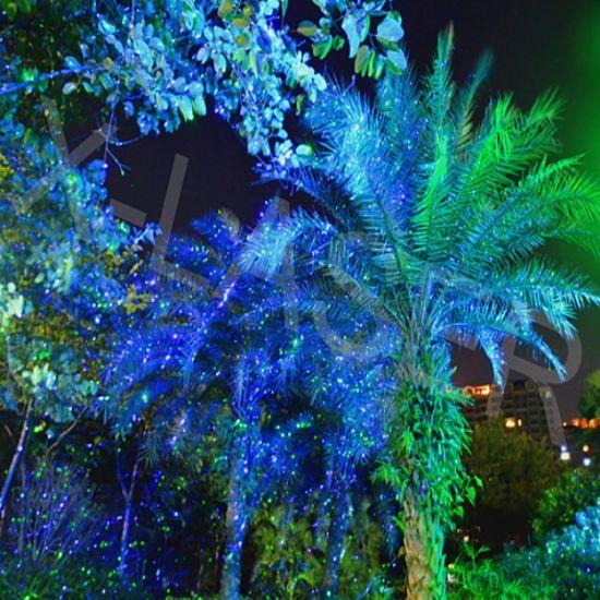 Charming Blueu0026Green Moving Firefly Garden Laser Light, Landscape Lawn Laser Light,  Bliss Firefly Light Projector