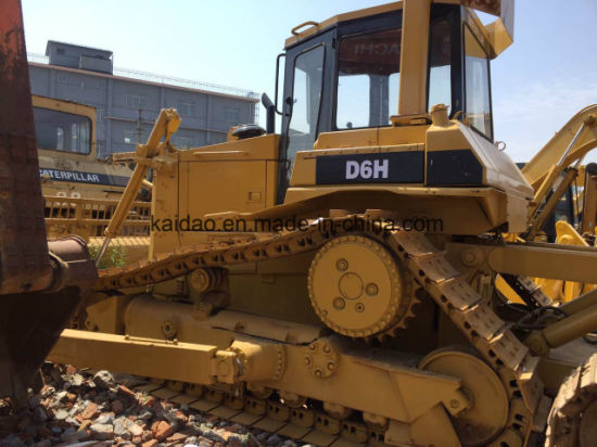 Used Cat D6h Bullodzer, Cat Crawler Bulldozer D6h pictures & photos