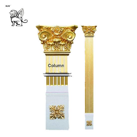 Cheap Price Square Design Decoration Stone Column Mcy-02