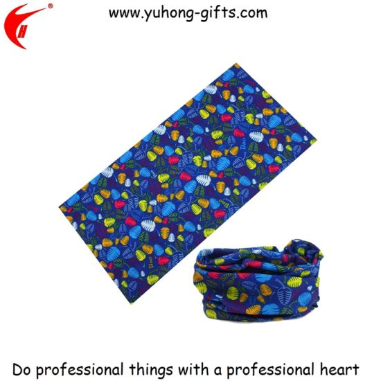 Wholesale Seamless Cheap Funny Unique Bandanas for Promotion (YH-HS024) pictures & photos