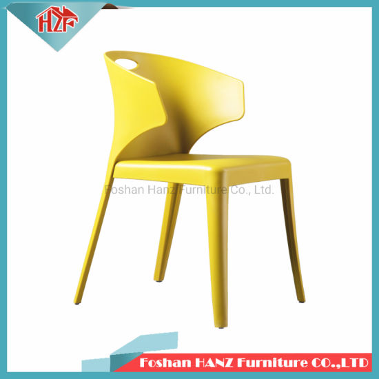 Modern New Design Colorful Backyard Home Furniture Hotel Restaurant Indoor or Outdoor PP Plastic Dining Chair