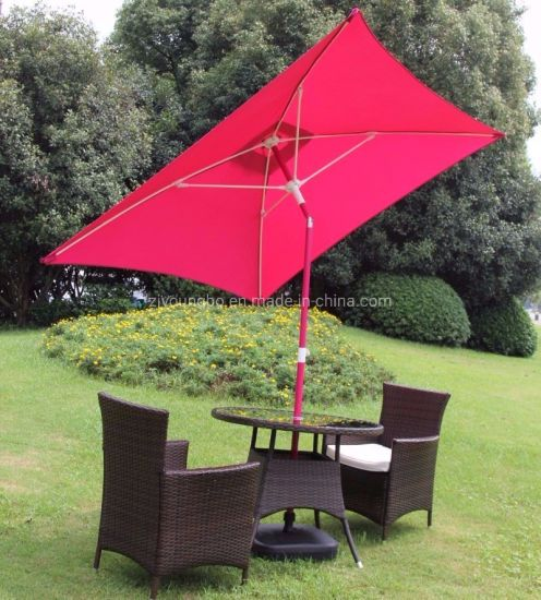 Hand Push Up Outdoor Patio Parasol