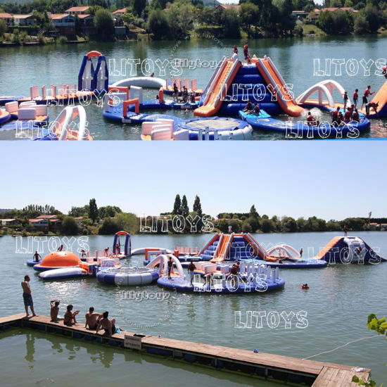 2017 Hot PVC Quality Inflatable Floating Water Park for Sea pictures & photos