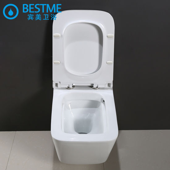 5 Star Hotel Standard Quality Whiteporcelain Wall Hung Toilet Bc-2380