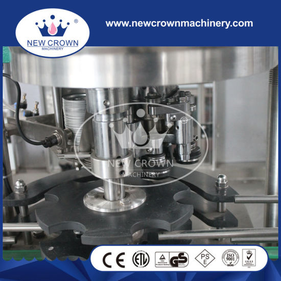 China High Quality 2 in 1 Juice Filling Machine for Tin Can pictures & photos