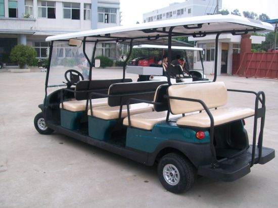 Excar 11 Seaters Electric Golf Cart for Sale pictures & photos