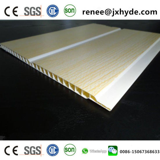 250*7mm*3950mm PVC Ceiling Board PVC Panel (RN-191) pictures & photos