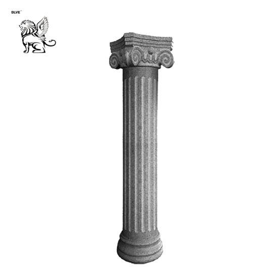 Cheap Price Pedestal Roman Marble Solid Column Mcy-01