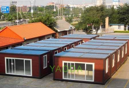 2016 Easy Portable Foldable Container House From Shandong, China pictures & photos