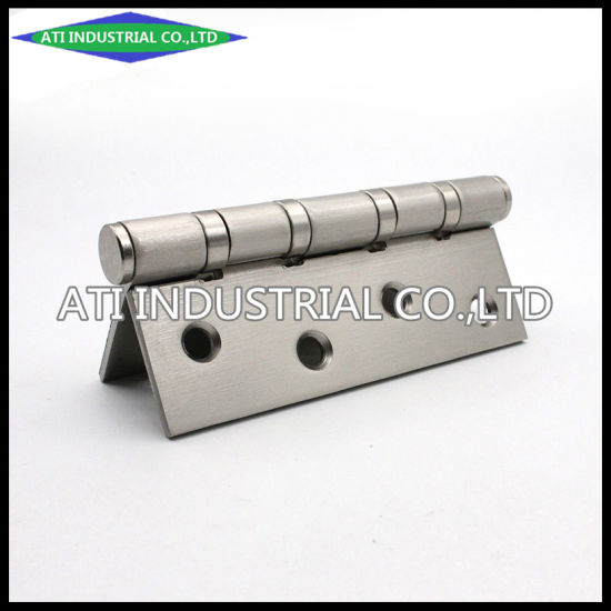 Door and Window Harware / Ball Bearing Hardware Flat Open Iron Brushed Door Hinges