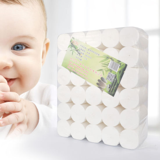 Sanitary Paper Wholesale Core Toilet Paper for Baby