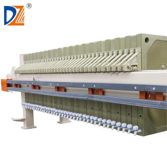 Automatic 870 Series High Pressure Hydraulic Membrane Filter Press Filter Machine