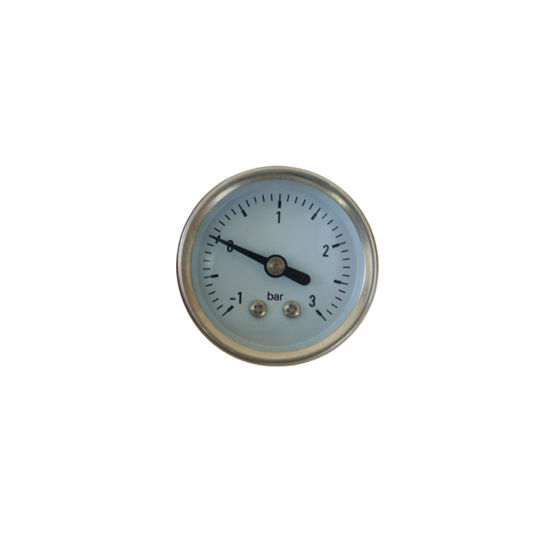 Ybf40d All Stainless Steel -1~3bar Pressure Gauge