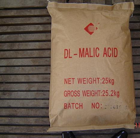 L-Malic Acid CAS No. 97-67-6 L- (-) -Malic Acid