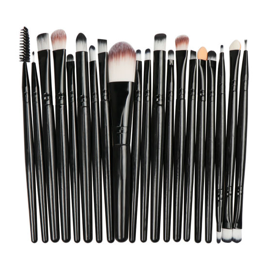 marble Makeup Brush Set for Travel in 20PCS pictures & photos